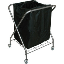 X-Frame Cart Polyester Replacement Bag Black