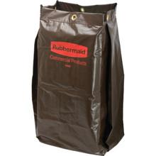 Rubbermaid Brown Janitor Cart Bag
