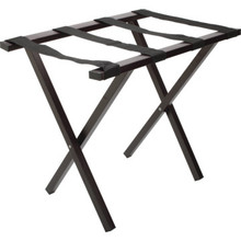 Metal Luggage Rack Brown Square Tube