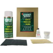 Acrylic Basin And Tub Repair Kit - White