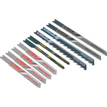 Bosch 10-Piece U-Shank Jigsaw Blade Assortment