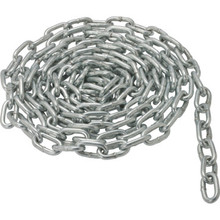 Coil Chain 3/16 x 10' Grade 30 Proof Zinc Plated