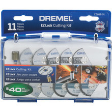 Dremel 11-Piece EZ Lock Cutting Kit