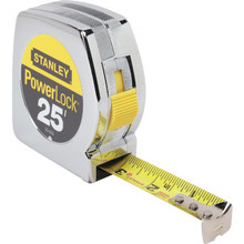 "Stanley 1"" x 25' PowerLock Tape Measure"