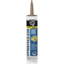 10.1 Oz DAP Dynaflex 230 Premium Latex Sealant - Dark Bronze