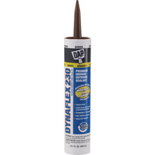 10.1 Oz DAP Dynaflex 230 Premium Latex Sealant - Brown