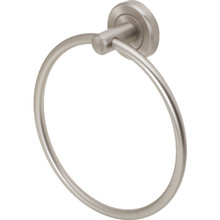 Gatco Lattitude II Satin Nickel Towel Ring