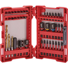 Milwaukee 40-Piece Impact Drill And Drive Set