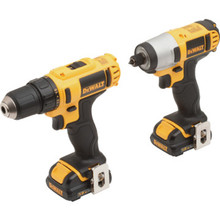 DeWalt 12 Volt MAX Cordless Lithium-Ion 2-Piece Combo Kit