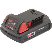 Milwaukee M18 Compact Red Lithium Battery Pack