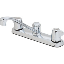Gerber Maxwell Kitchen Faucet Chrome Two Handle
