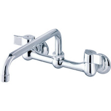 Gerber Service Faucet Chrome Two Handle Wall Mount