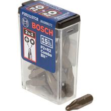 Bosch P2R2 Combo Bit 15/Pk