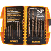 DeWalt 14-Piece Cobalt Pilot Point Drill Bit Set