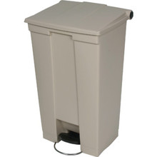 18 Gallon Rubbermaid Beige Step Can
