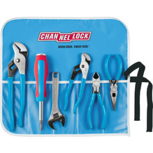 Channellock 6-Piece Tool Roll Kit