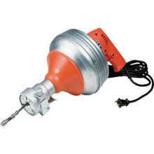 General Pipe Cleaners Auger Power-Vee Electric Drill With Flexicore Cable