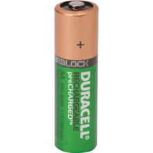 AA Duracell Rechargeable NiMh Battery 4 Per Package
