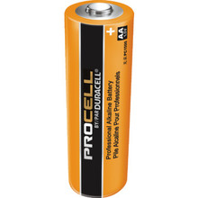 AA Duracell ProCell Alkaline Battery 24 Per Package