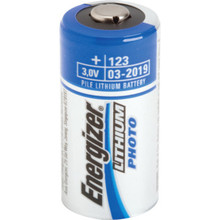 3V EL123 Energizer Lithium Photo Battery