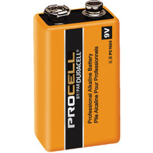 9V Duracell ProCell Alkaline Battery 12 Per Package