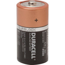 D Duracell Coppertop Alkaline Battery 4 Per Package