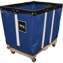 8 Bushel Vinyl Basket Truck Blue
