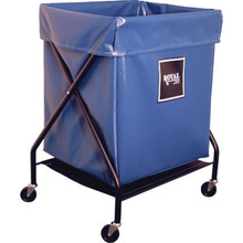 8 Bushel Vinyl Folding X-frame Cart