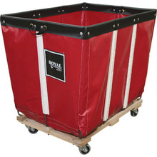 8 Bushel Vinyl Basket Truck Red