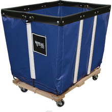 20 Bushel Vinyl Basket Truck Blue