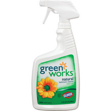 Bathroom Cleaner, 24 Ounce Clorox Green Works