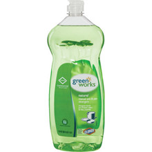Dish Detergent, 38 Ounce Clorox Green Works