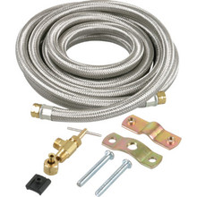 10' BRAIDED S.S. ICEMAKER WATER LINE