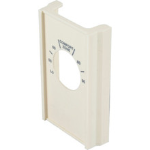 Ivory Single Pole Line Volt Thermostat Cover