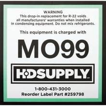 MO99 Adhesive Labels Package Of 10