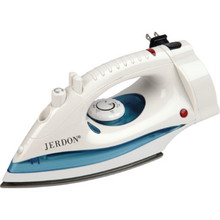 Jerdon Iron White Retractable Cord