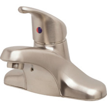 CFG Cornerstone Lav Faucet Brushed Nickel Single Handle With Pop-Up With Spply