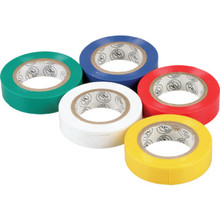 PVC Color Coded Electrical Tape - Package Of 5
