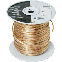 250' 18/2 Clear Gold Lamp Cord