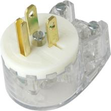 Hosp Grade Angle Plug 15 Amp 125 Volt