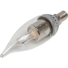 LED Bulb Archipelago 3W Flame (25W Equivalent) 2700K Candelabra Clear Dimmable