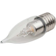 LED Bulb Archipelago 3.5W Flame (25W Equivalent) 2700K Clear Dimmable