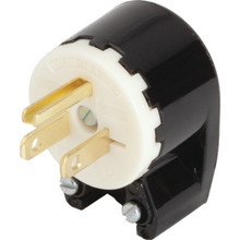 15 Amp U-Ground Angle Plug