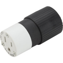 15 Amp Straight Blade Female Connector