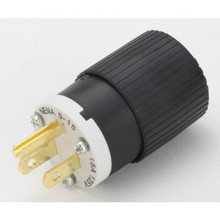 15 Amp Male Straight Blade Plug