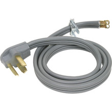5' 3-Wire 30 Amp Dryer Power Supply Cord