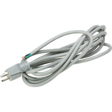 16/3 12' Hospital Grade Power Cord-Gray