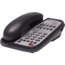 Teledex AC9110S Single Line Black Telephone