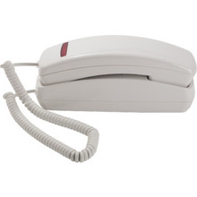 Aegis Slimline Single Line White Telephone