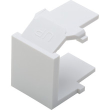 Quickport Snap-In Blank - White Package Of 10